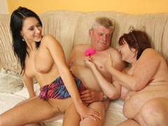 His slutty GF meets his parents