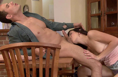 Guy watches wife get nailed