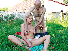 Killer hot gf cheats outdoors
